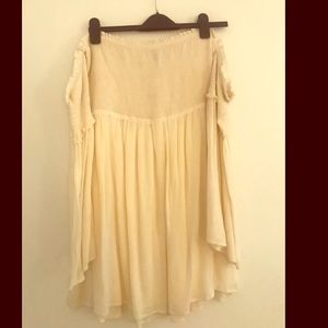 Ecote off the shoulder peasant tunic -never worn-